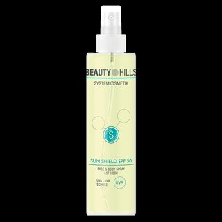 Sun Shield Body & Face Spray SPF50 | Beauty Hills